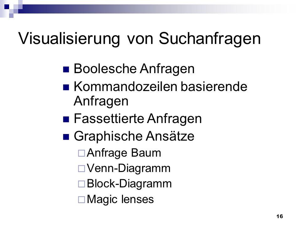 Visualisierung von Suchanfragen- und Ergebnissen - ppt video online ...