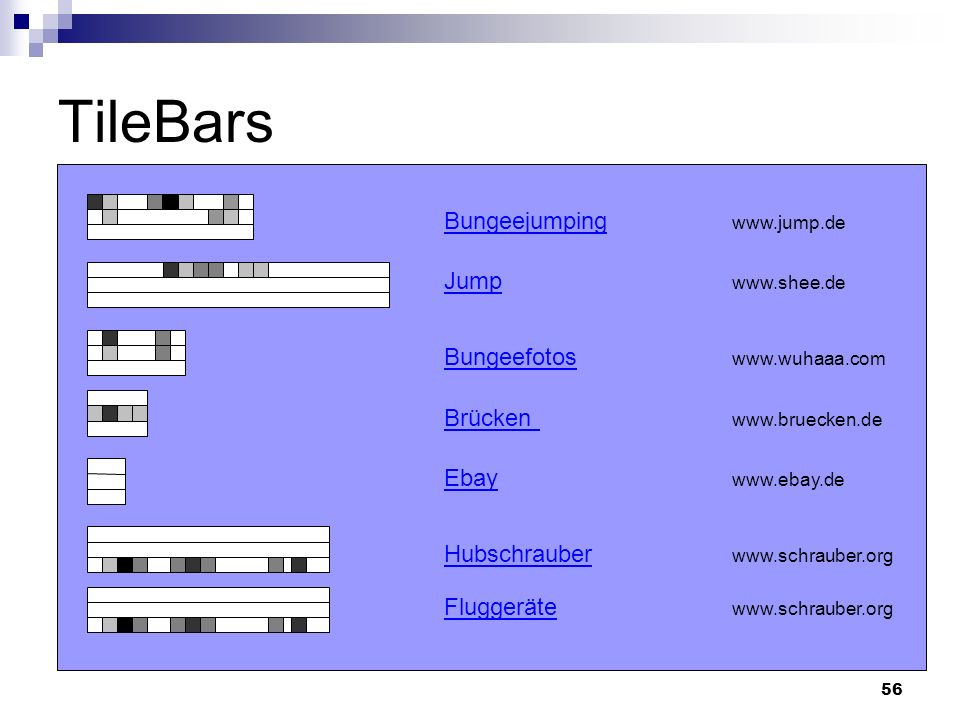 TileBars Bungeejumping   Jump