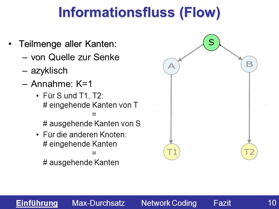 Informationsfluss (Flow)