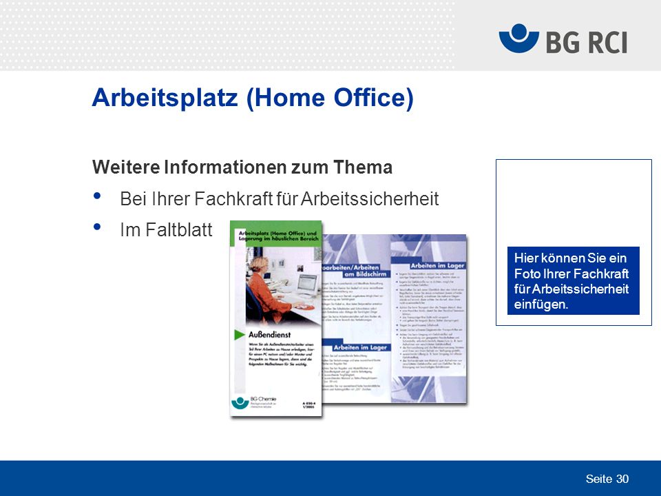 Arbeitsplatz (Home Office)