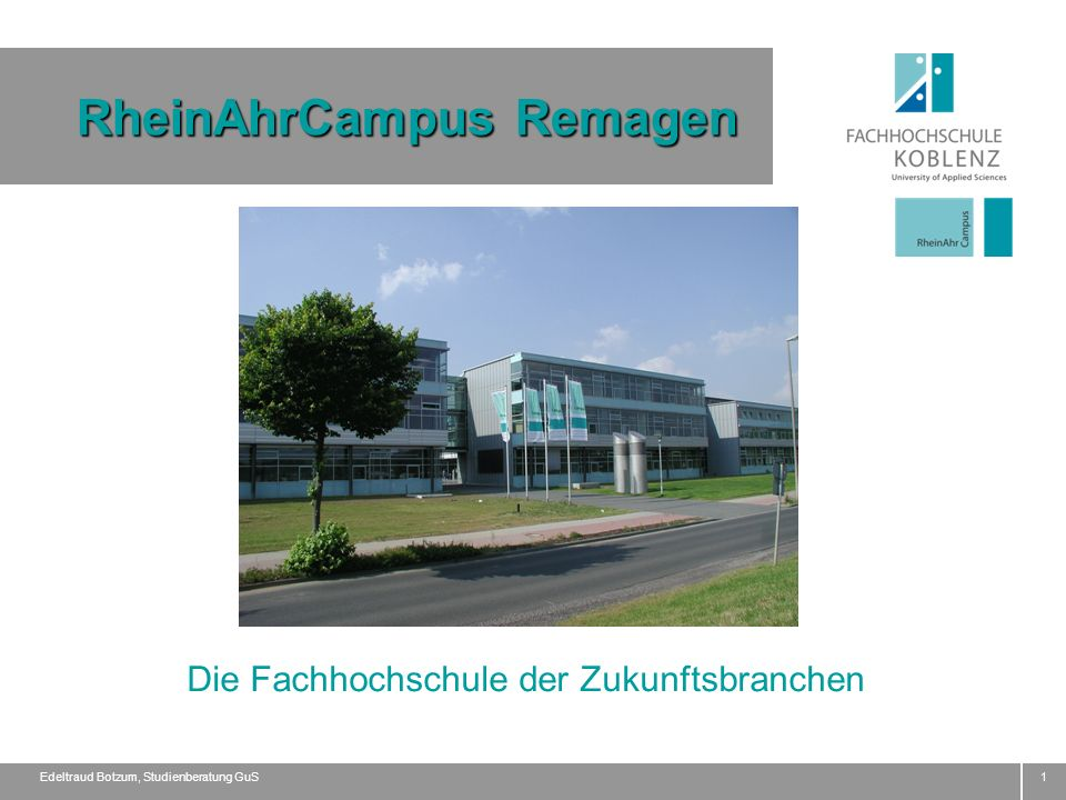 RheinAhrCampus Remagen