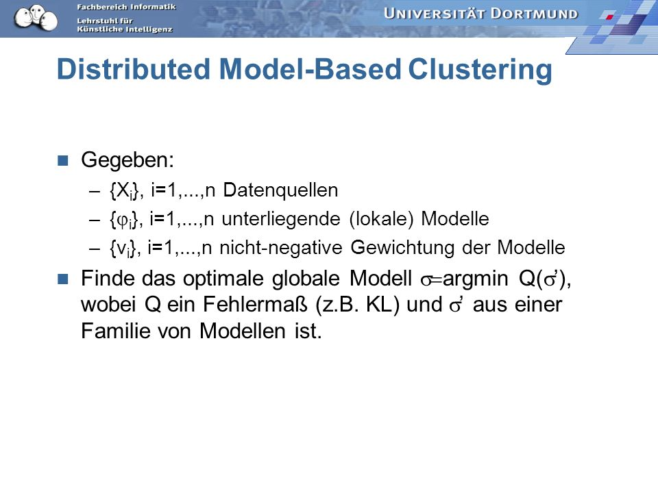 Distributed Model-Based Clustering