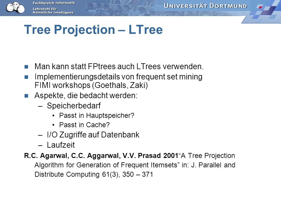 Tree Projection – LTree