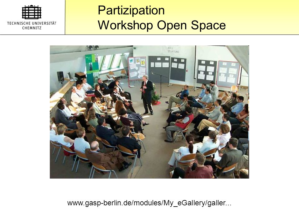 Partizipation Workshop Open Space