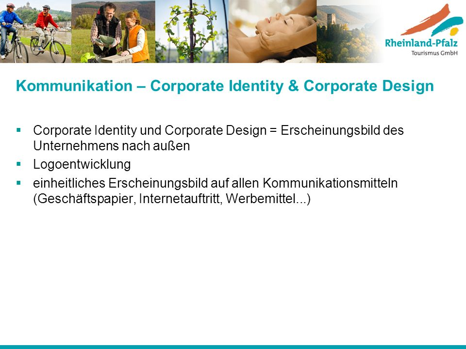 Kommunikation – Corporate Identity & Corporate Design