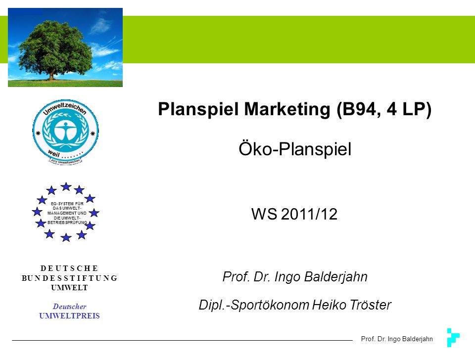 Planspiel Marketing (B94, 4 LP)