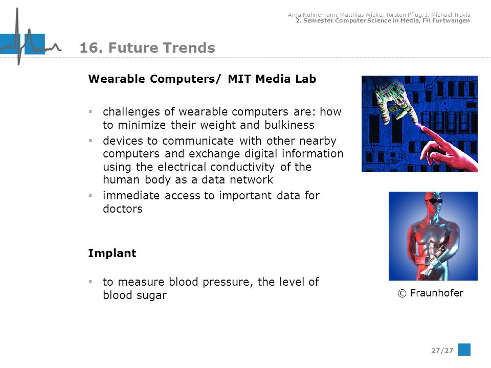 16. Future Trends Wearable Computers/ MIT Media Lab