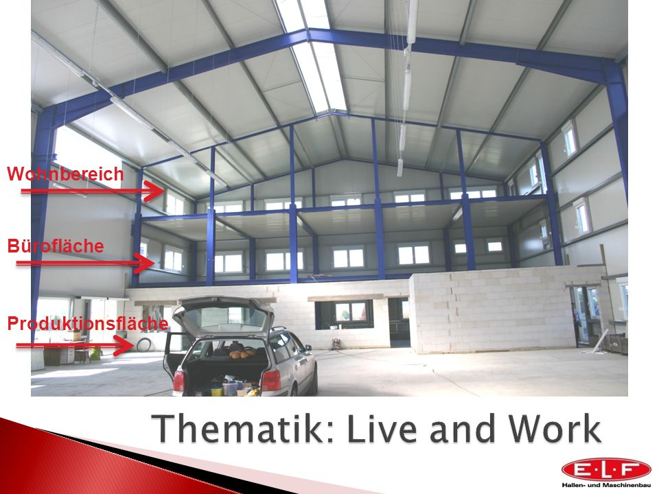 Thematik: Live and Work