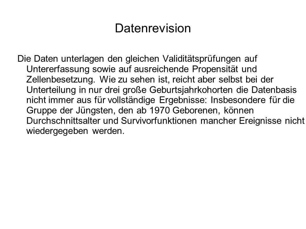 Datenrevision
