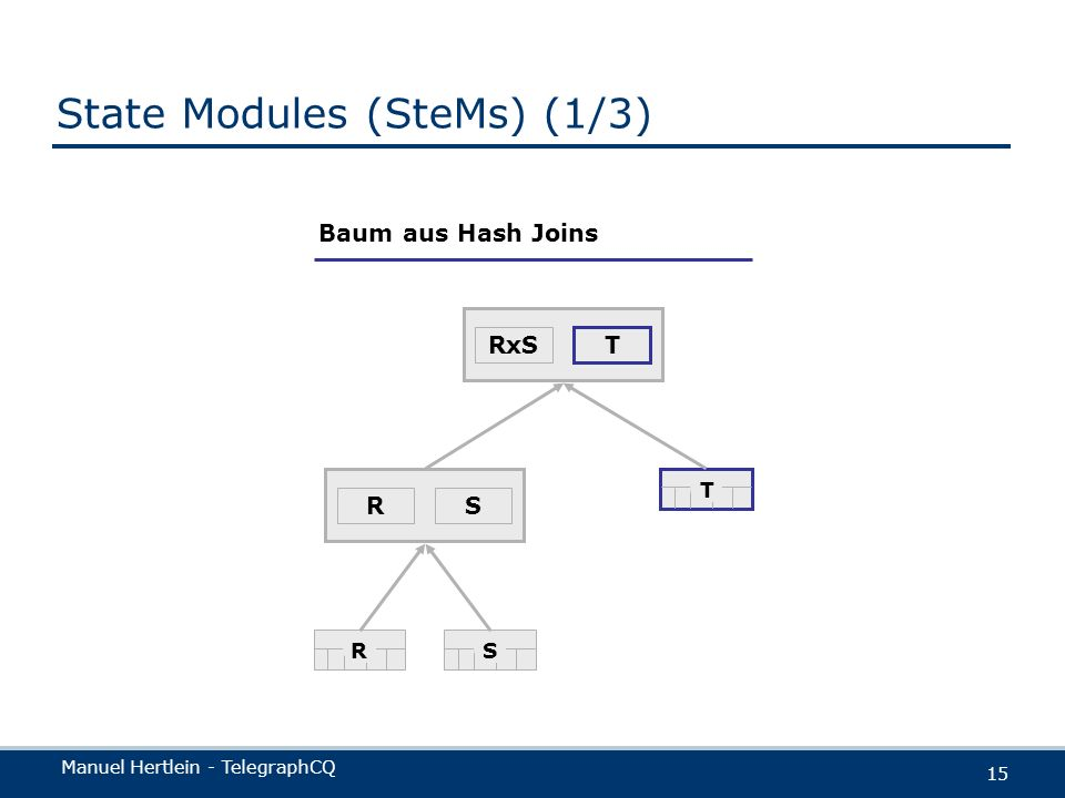 State Modules (SteMs) (1/3)