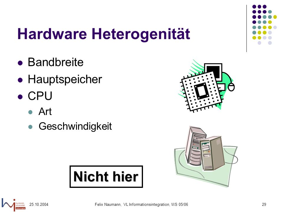 Hardware Heterogenität