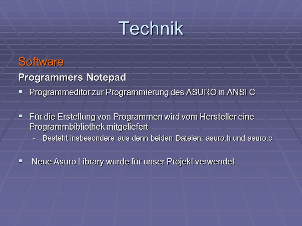 Technik Software Programmers Notepad
