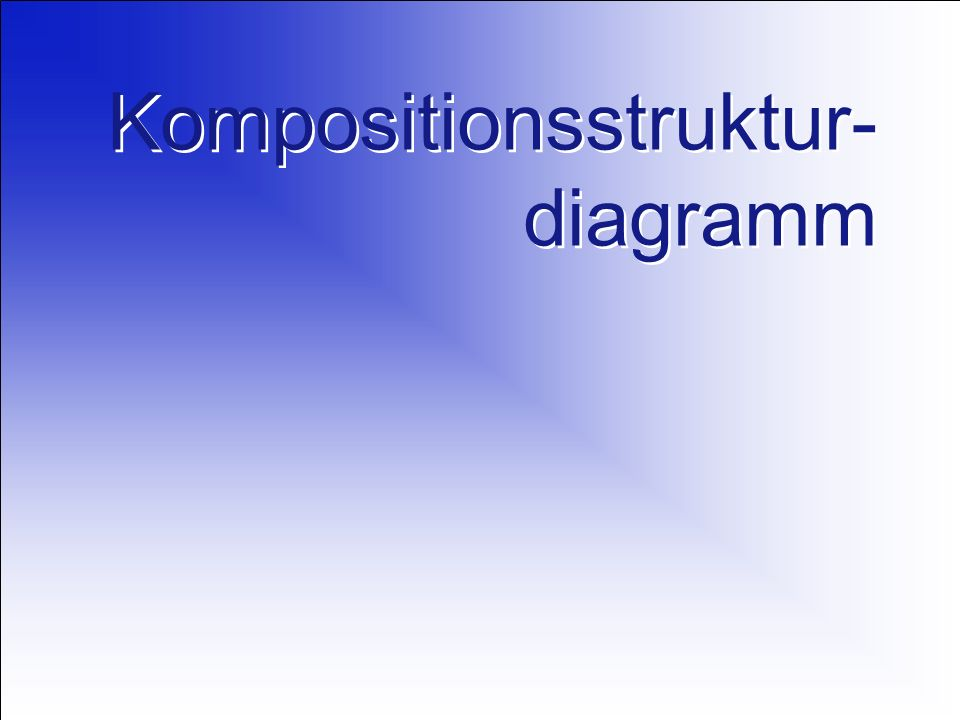 Kompositionsstruktur-diagramm