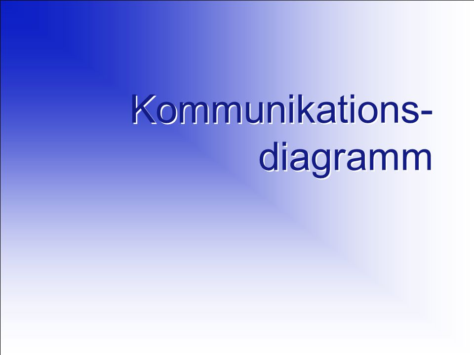 Kommunikations-diagramm