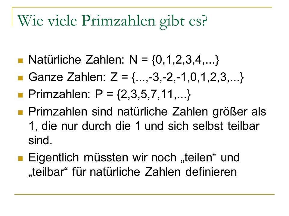 GIN1b – Exkurs: Primzahlen - ppt herunterladen