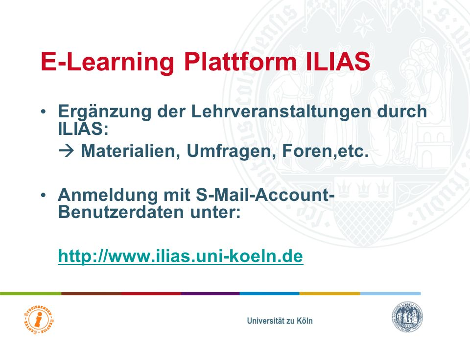 E-Learning Plattform ILIAS