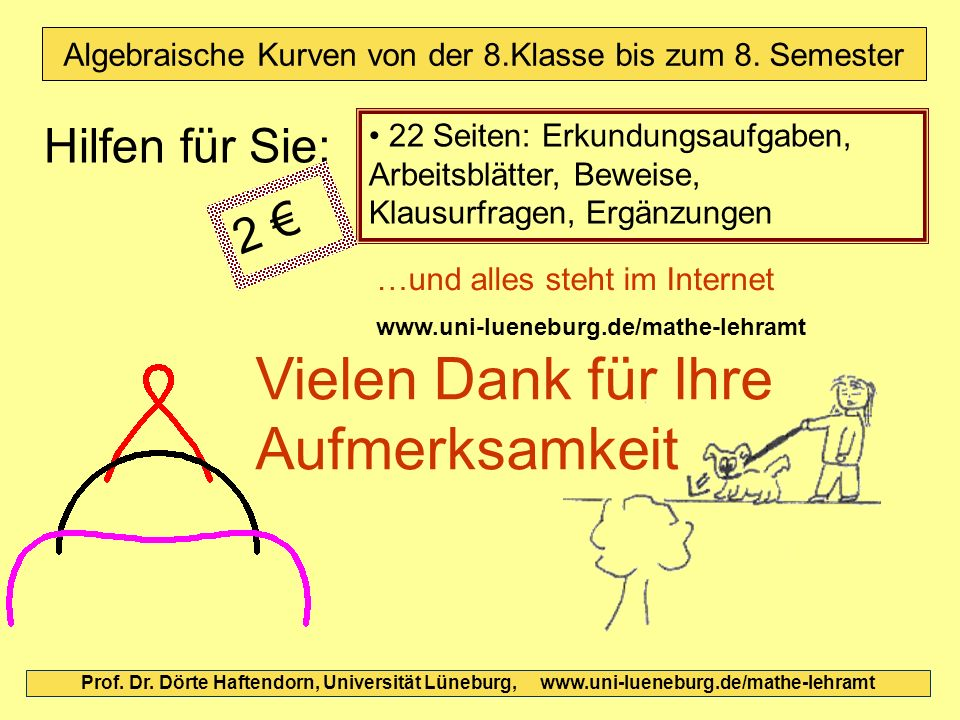 Algebraische Kurven von der 8.Klasse bis zum 8.Semester - ppt video ...