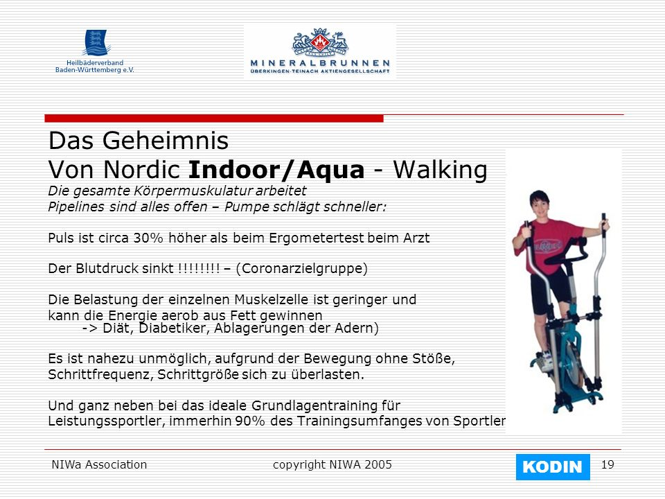 Von Nordic Indoor/Aqua - Walking