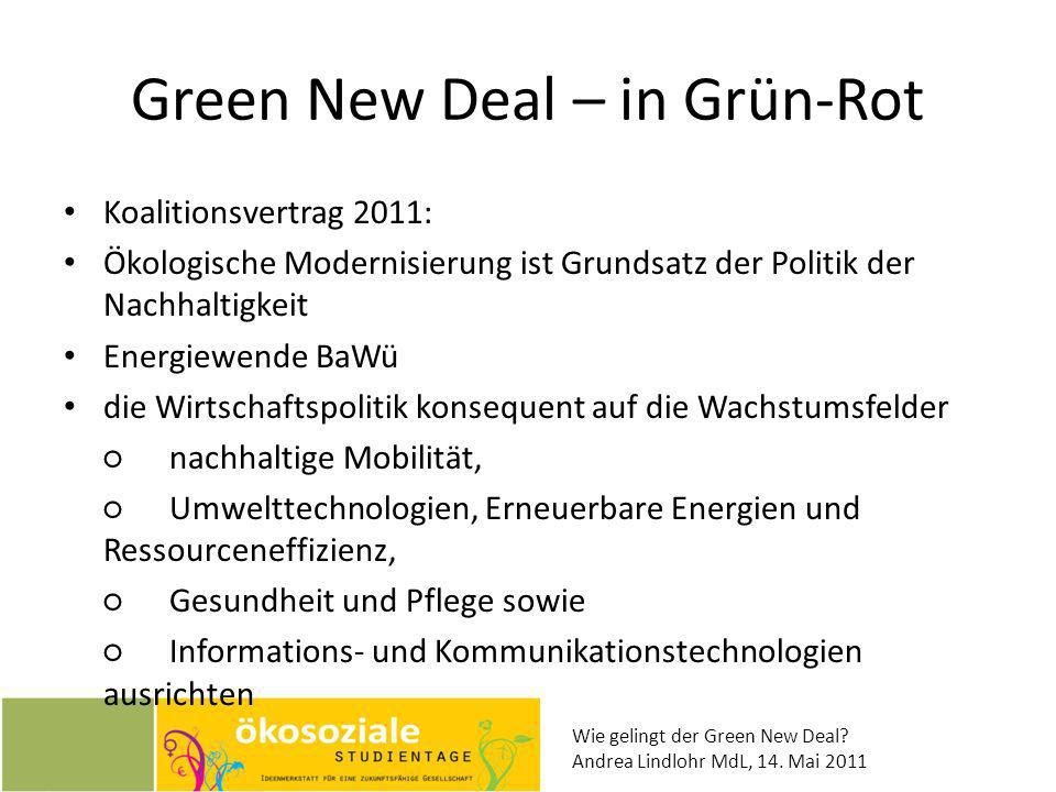 Green New Deal – in Grün-Rot