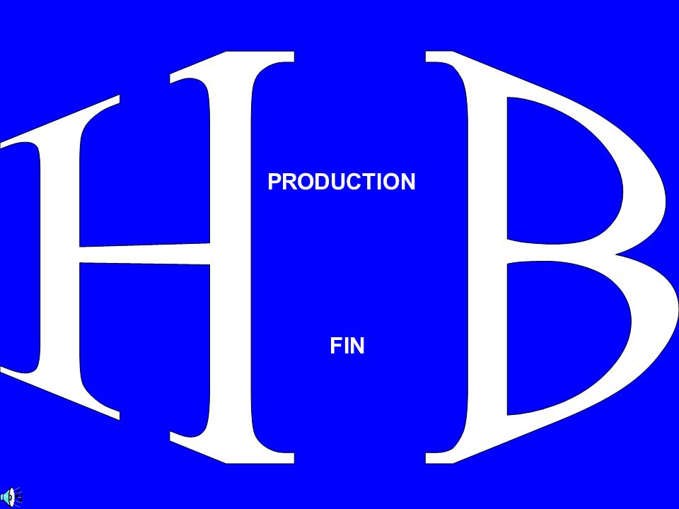 H B PRODUCTION FIN