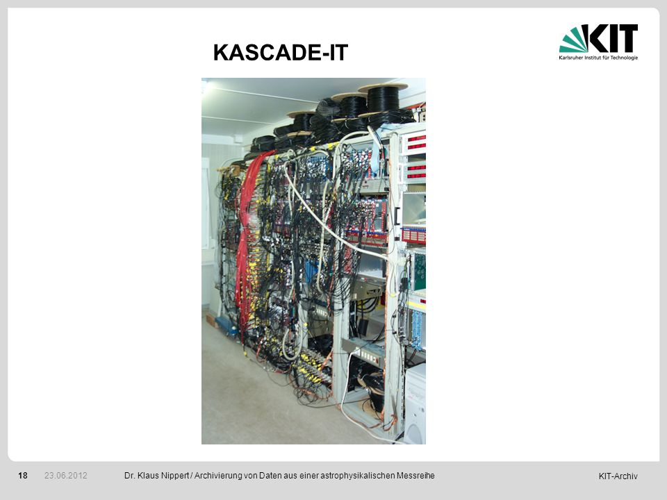 KASCADE-IT Dr.