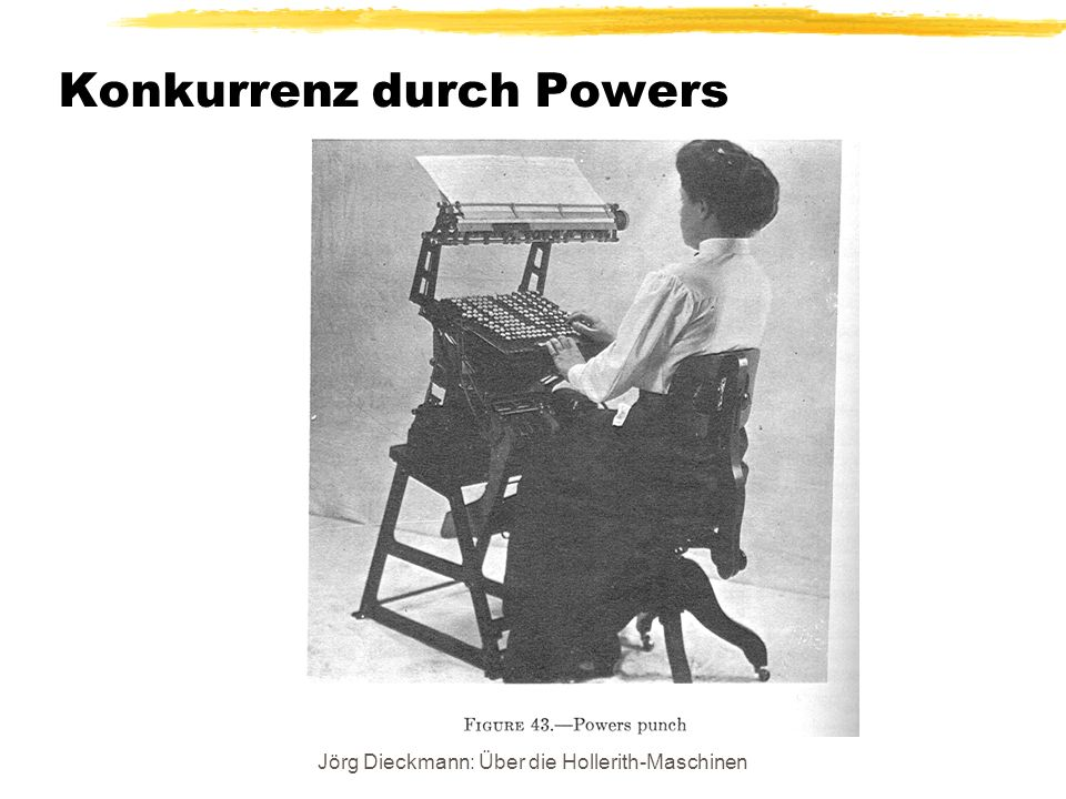 Konkurrenz durch Powers