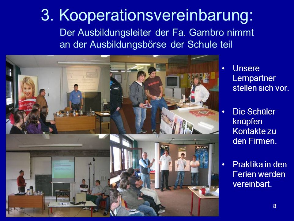 3. Kooperationsvereinbarung: