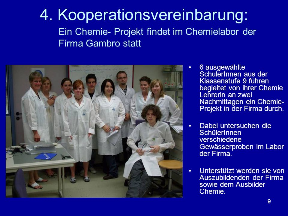 4. Kooperationsvereinbarung: