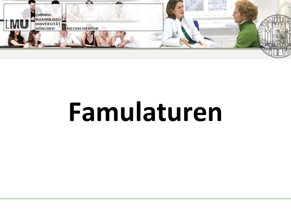 Famulaturen