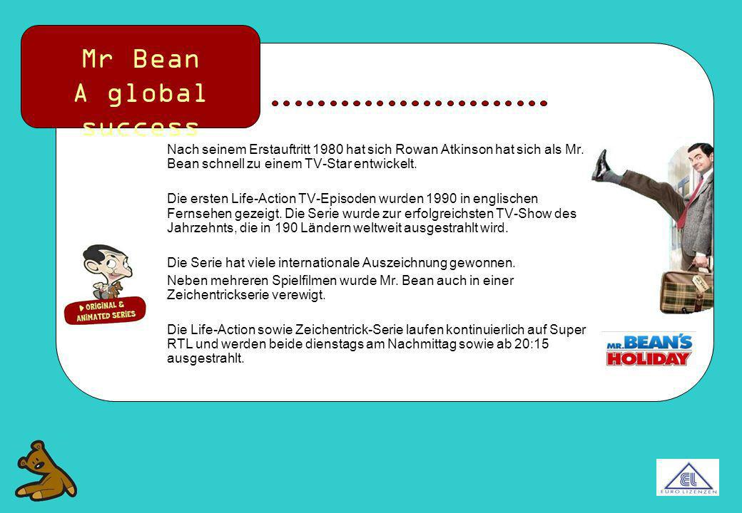 Mr Bean A global success