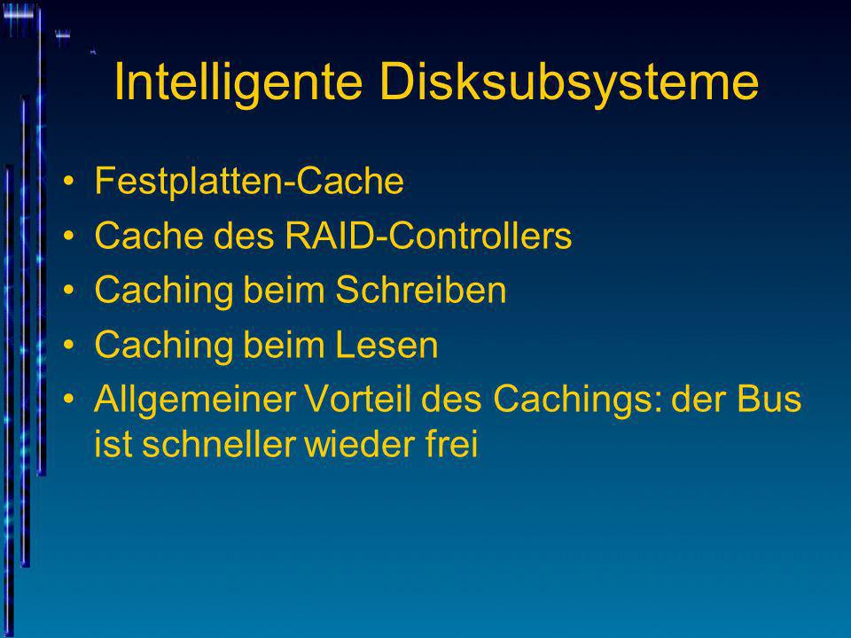 Intelligente Disksubsysteme