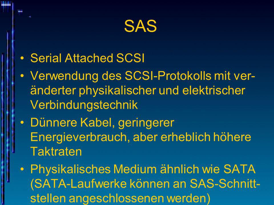 SAS Serial Attached SCSI