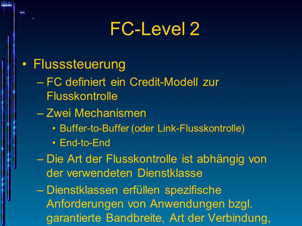 FC-Level 2 Flusssteuerung