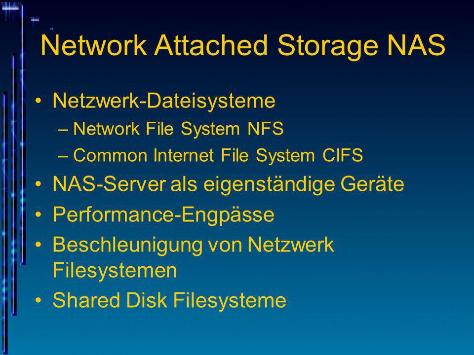 Network Attached Storage NAS