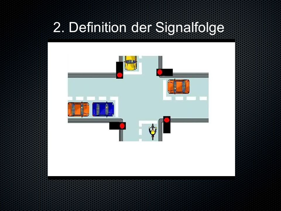 2. Definition der Signalfolge