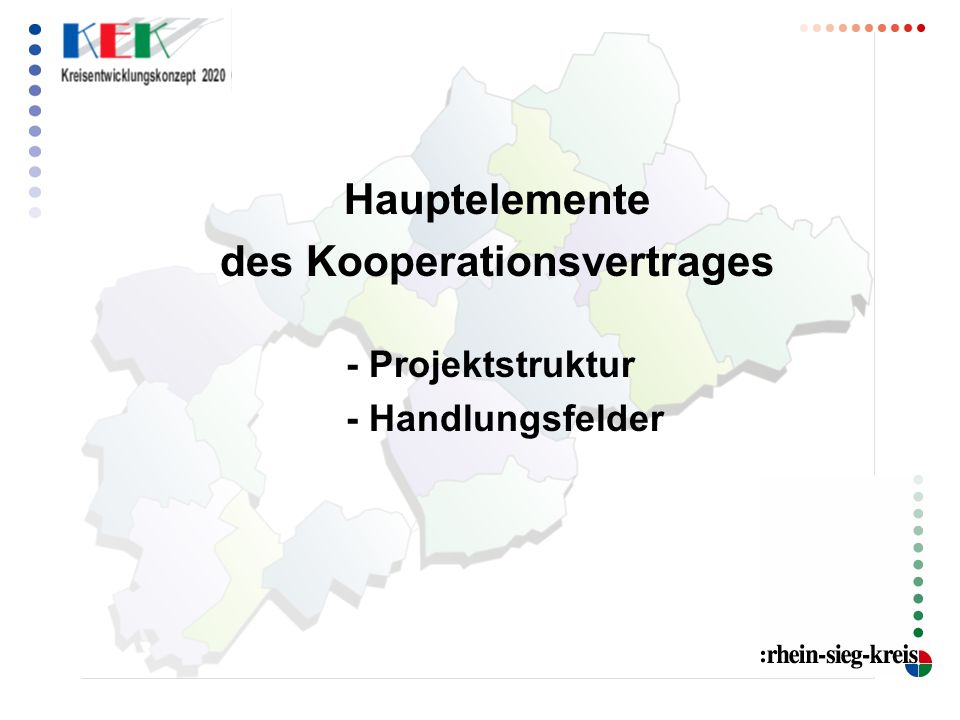 des Kooperationsvertrages