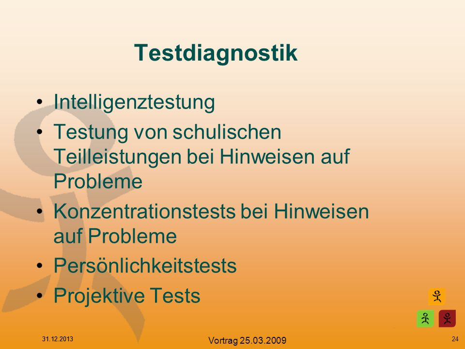 Testdiagnostik Intelligenztestung