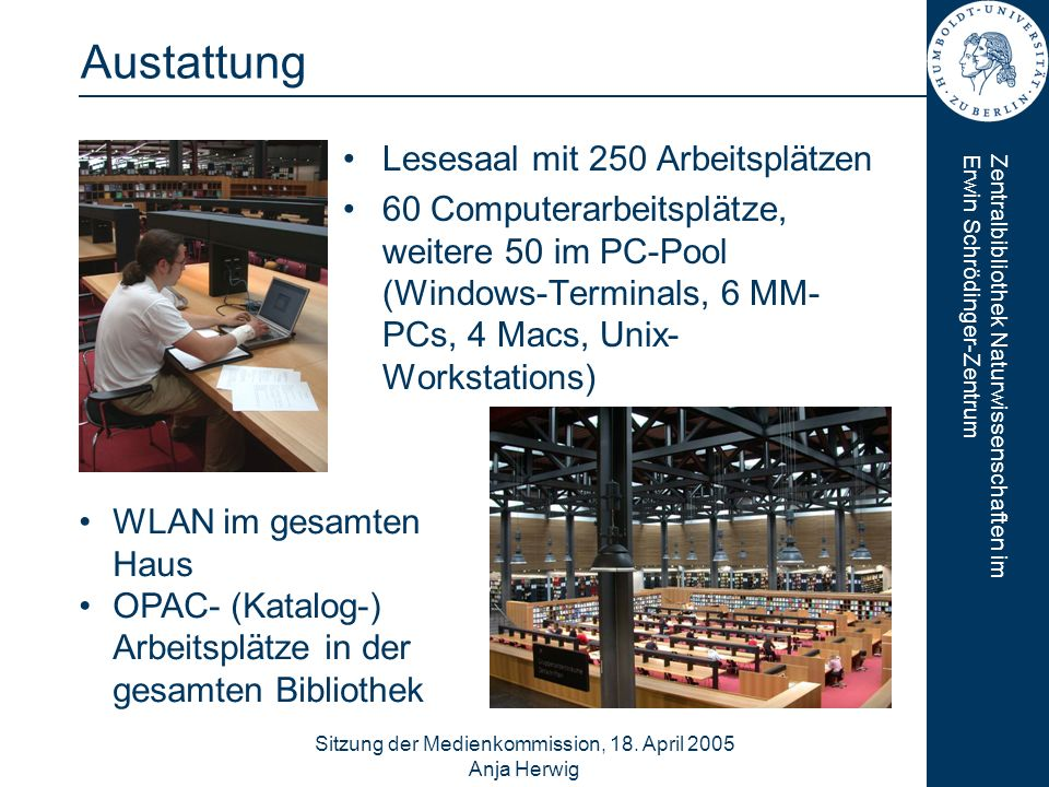 Sitzung der Medienkommission, 18. April 2005