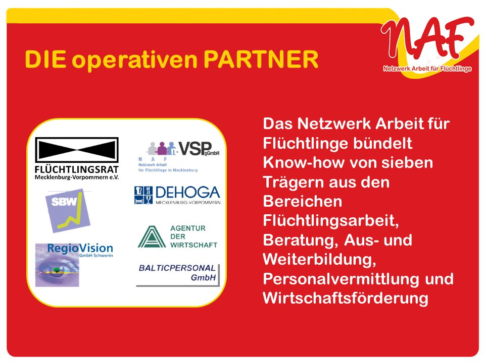 DIE operativen PARTNER