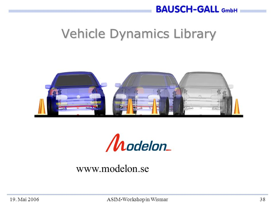 Vehicle Dynamics Library