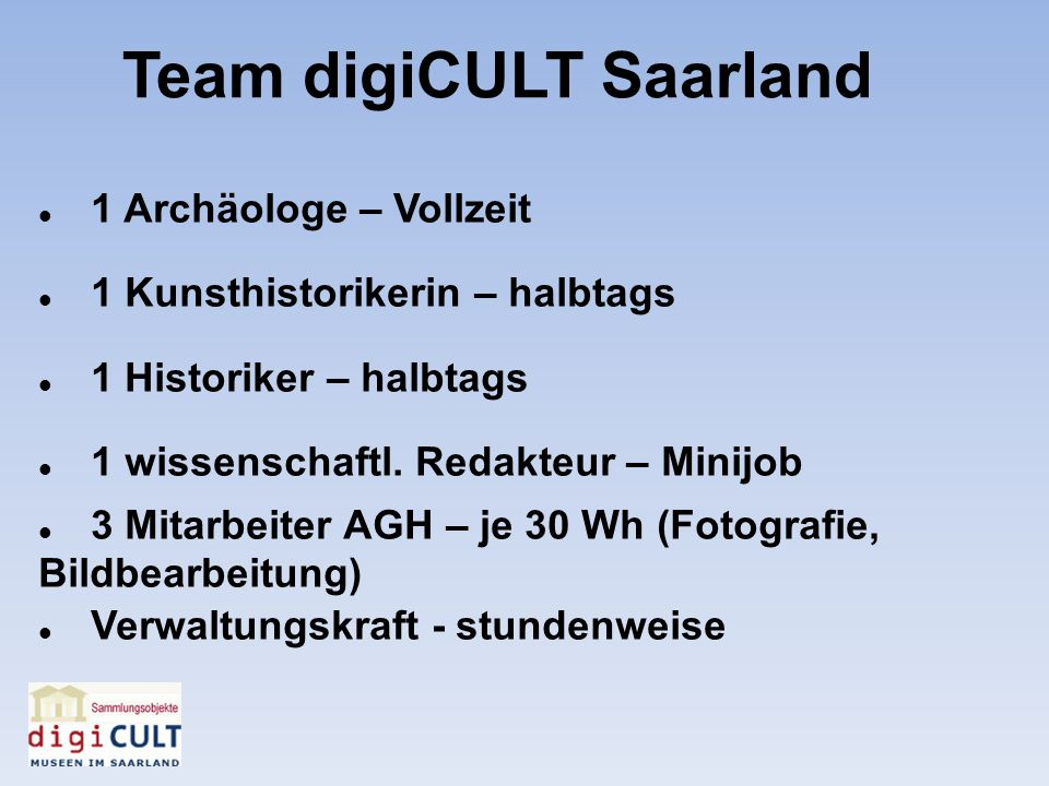Team digiCULT Saarland