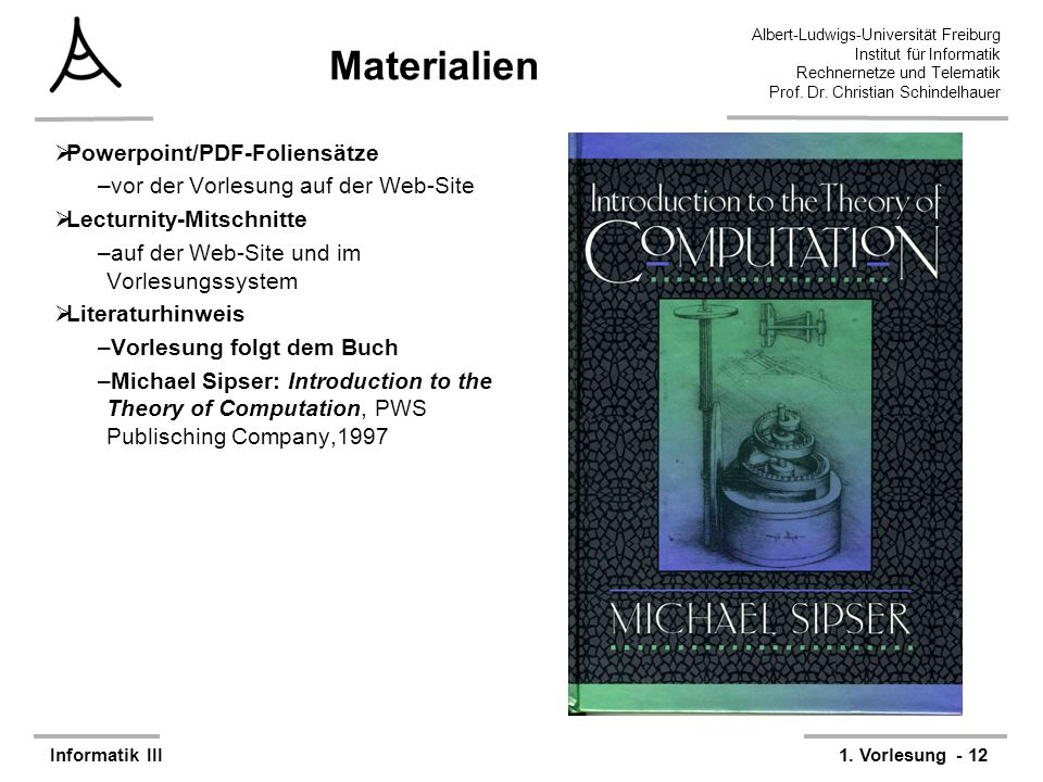 Materialien Powerpoint/PDF-Foliensätze