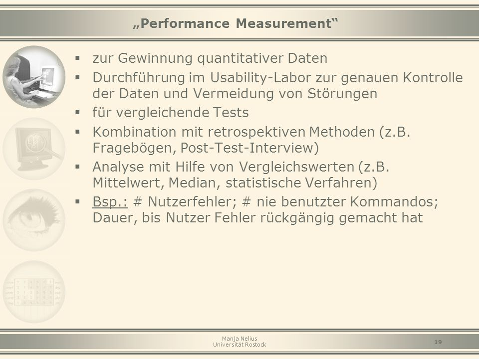 """Performance Measurement"
