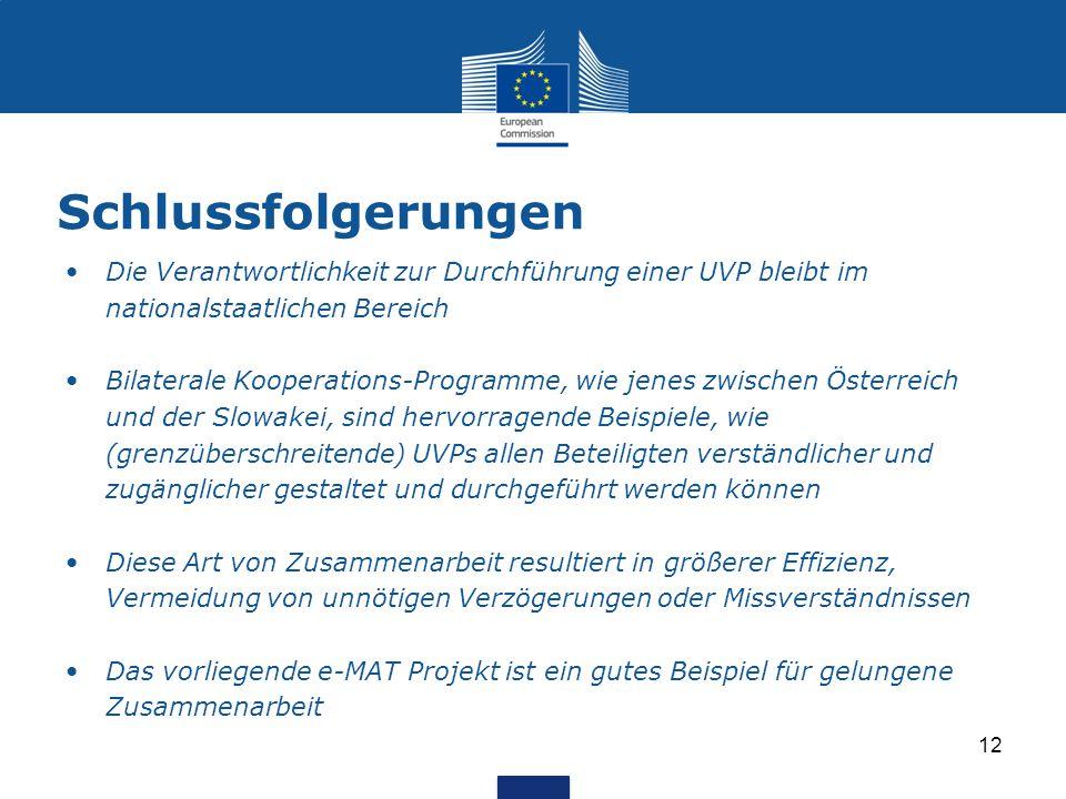 Transnationale Kooperation Bei Grenzüberschreitenden Uvp Verfahren