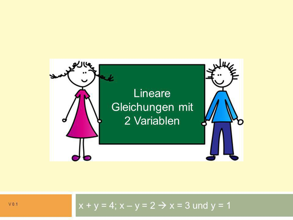 Lineare Gleichungen mit 2 Variablen - ppt herunterladen