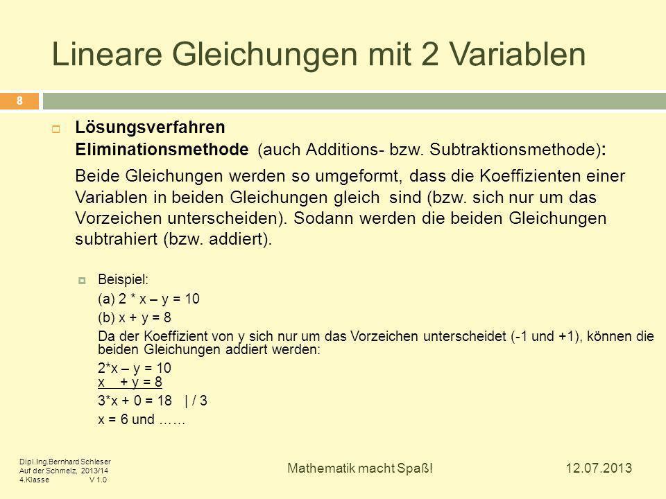 Ausgezeichnet Lineare Gleichung In Einer Variablen Arbeitsblatt ...