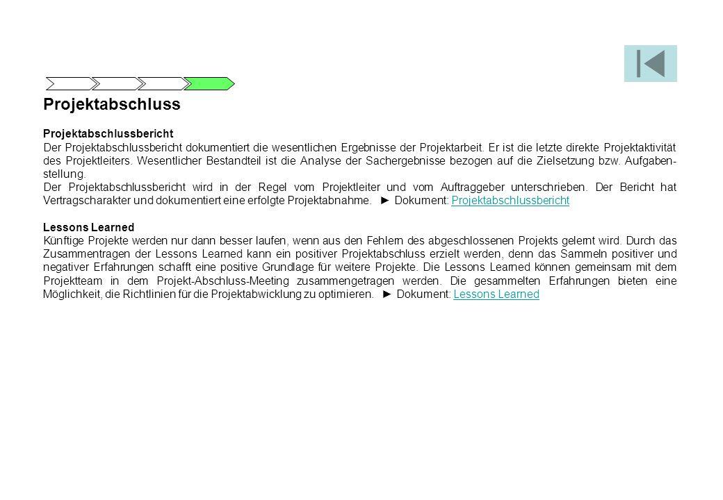 Groß Projektabschluss Berichtsvorlage Galerie ...