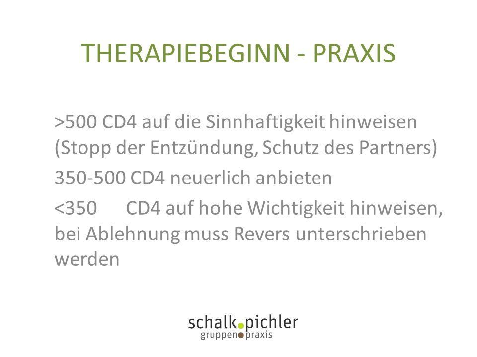 THERAPIEBEGINN - PRAXIS