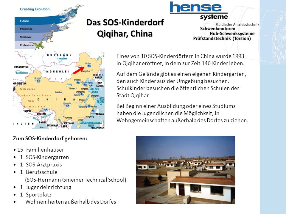 Das SOS-Kinderdorf Qiqihar, China