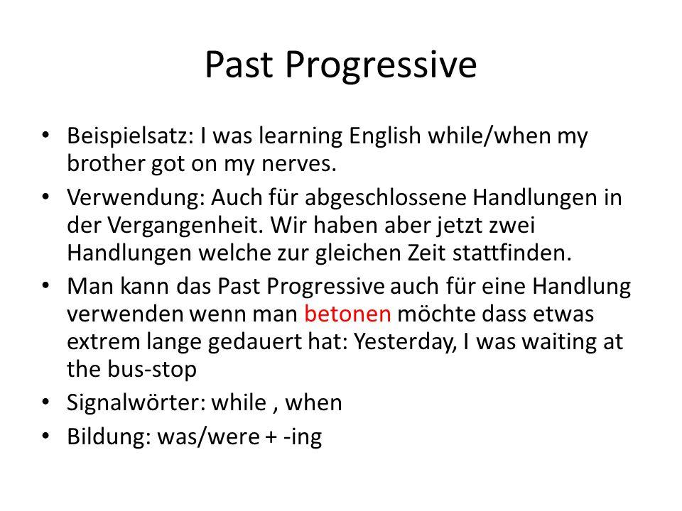 Past Progressive Tense What Is The Past Progressive Tense 12